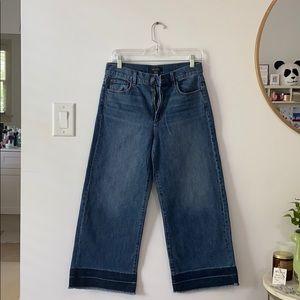 Wide leg jeans, never been worn